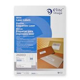Mailing Label, Laser, White