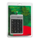 Compucessory USB Ports Keypad, Dark gray