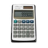Compucessory 8-Digit Dual Power Pocket Calculator, Ivory