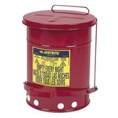 "Oily Wastecan, Lead-free, 6 Gallon Capacity, 11-7/8""x15-7/8"""