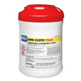 Unimed Sani-Cloth Plush Germicidal Wipes