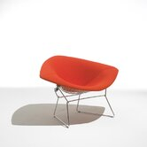 Large Diamond Lounge Chair with Full Cover by Harry Bertoia