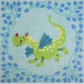 Fairy Tale Dragon Kids Rug