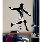 Soccer Player Peel and Stick Wall Decal