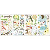 Studio Designs Animal Alphabet Peel and Stick Wall Decal