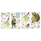 Licensed Designs The Princess and The Frog Wall Stickers
