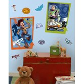 Licensed Designs Buzz and Woody Peel and Stick Giant Poster