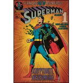 Superman Kryptonite Peel and Stick Comic Cover Wall Decal