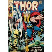 Thor Peel and Stick Comic Book Cover Wall Decal