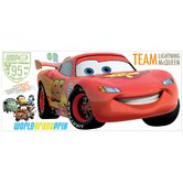 Cars 2 Lightening Peel and Stick Giant Wall Decal with Personalization