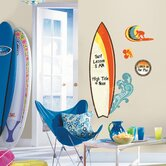 Surfs Up Dry Erase Peel and Stick Giant Wall Decal