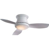 "52"" Concept II 3 Blade Ceiling Fan with Remote"
