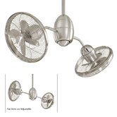36&quot; Gyrette 8 Blade Turbo Ceiling Fan with Wall Control