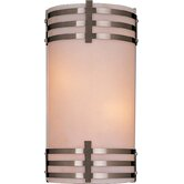 Rectangle Wall Sconce with Brushed Nickel  - Energy Star