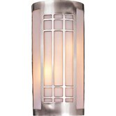 Wall Sconce with Etched Opal Glass - Energy Star