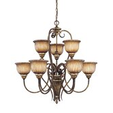 Raffine 9 Light Chandelier