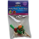 Polly Pops Foot Bird Toys