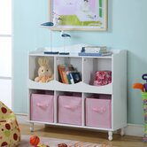 Cubby Storage Cabinet in White