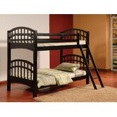 Arched Twin Over Twin Bunk Bed