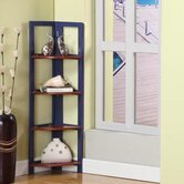 Four Tier Corner Bookcase