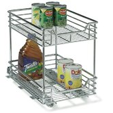 "Glidez 11.5"" Two Tier Sliding Organizer KD"