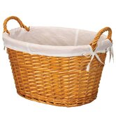 Willow Paper Rope Laundry Basket