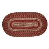 Cambridge Barn Red/Olive Rug