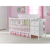 Lauren 4-in-1 Convertible Crib and Changing Table