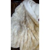 Cougar Faux Fur Acrylic Throw Blanket with Silky Soft Faux Fur Lining