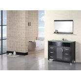 Waterfall Cascade Single Sink Vanity Set