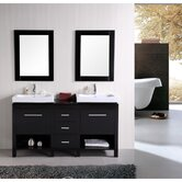 "New York 60"" Contemporary Bathroom Vanity"