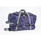 29&quot; Over/Under 2-Wheeled Travel Duffel