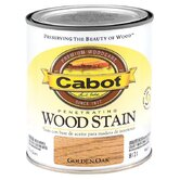 1 Quart Golden Oak Interior Oil Wood Stain 144-8121 QT