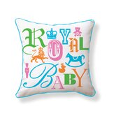 Royal Baby Double Sided Cotton Pillow
