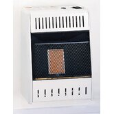 One Plaque infrared Dual Fuel Wall Heater