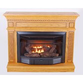 Carlton Dual Fuel Gas Fireplace
