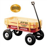 All-Terrain Steel &amp; Wood Wagon