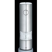 Torino Electric Salt Mill in Matte Stainless Steel