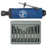 8Pc Burr Set / 1/4&quot;&quot;  Die Grinder Combo