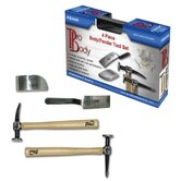 4Pc Body And Fender Repair Tool Set
