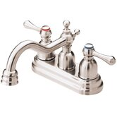 Opulence Two Handle Centerset Bathroom Faucet
