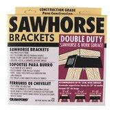 Double Duty Sawhorse &amp; Work Surface Brackets 90-6