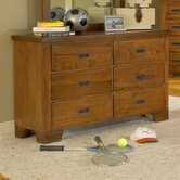 Heartland Kids Double 6-Drawer Dresser