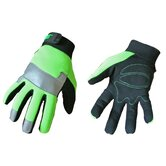 Rainwear Boss Spandex Gloves in  Fluorescent Green