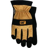 Rainwear Boss Large Thinsulate™ Spandex Back Gloves in  Yellow