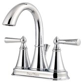 Saxton Double Handle Centerset Bathroom Faucet