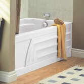 "Colony 5' x 30""  Bath Tub with Integral Apron and Hydro Massage"