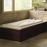 Green Tea 21&quot; x 60&quot; Bath Tub in White