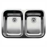 Supreme 2 Equal Double Bowl Undermount Kitchen Sink