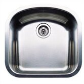Wave Plus Single Bowl Undermount Kitchen Sink